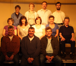 The cast and some of the crew